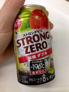 Suntory Strong Zero Double Apple Chu-hai